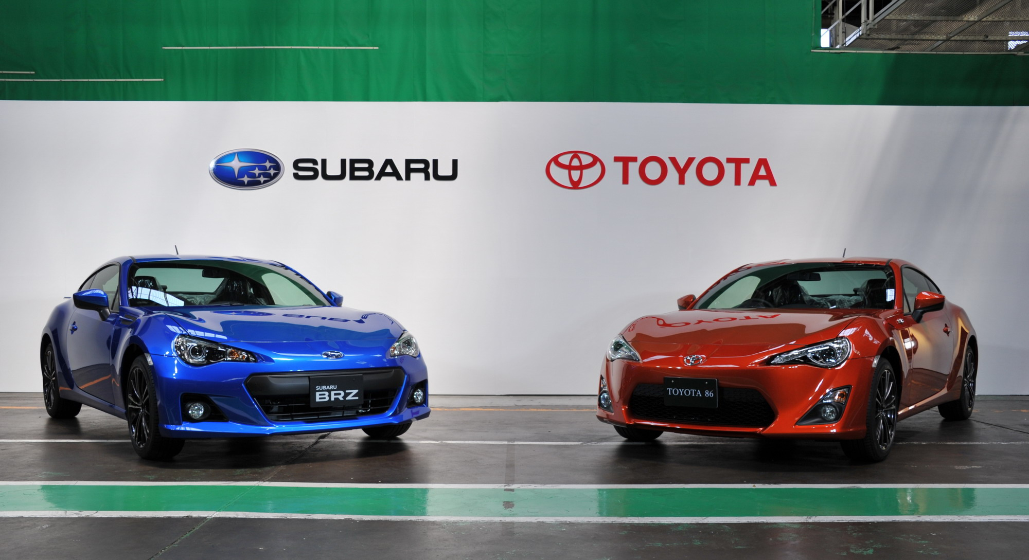 production of the subaru brz and toyota gt 86 begins in japan news gallery top speed. Black Bedroom Furniture Sets. Home Design Ideas
