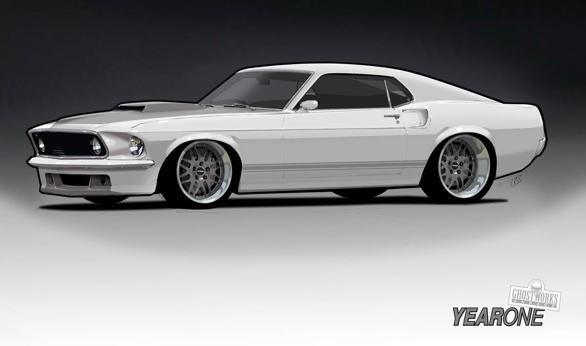 1969 ford mustang sportroof project by year one top speed. Black Bedroom Furniture Sets. Home Design Ideas