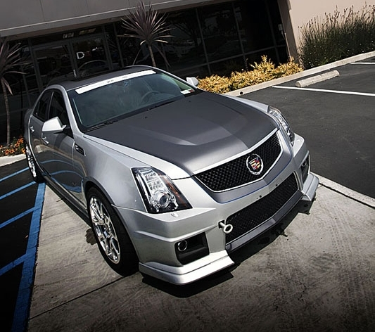 2010 cadillac cts v patriot missile by d3 cadillac. Black Bedroom Furniture Sets. Home Design Ideas