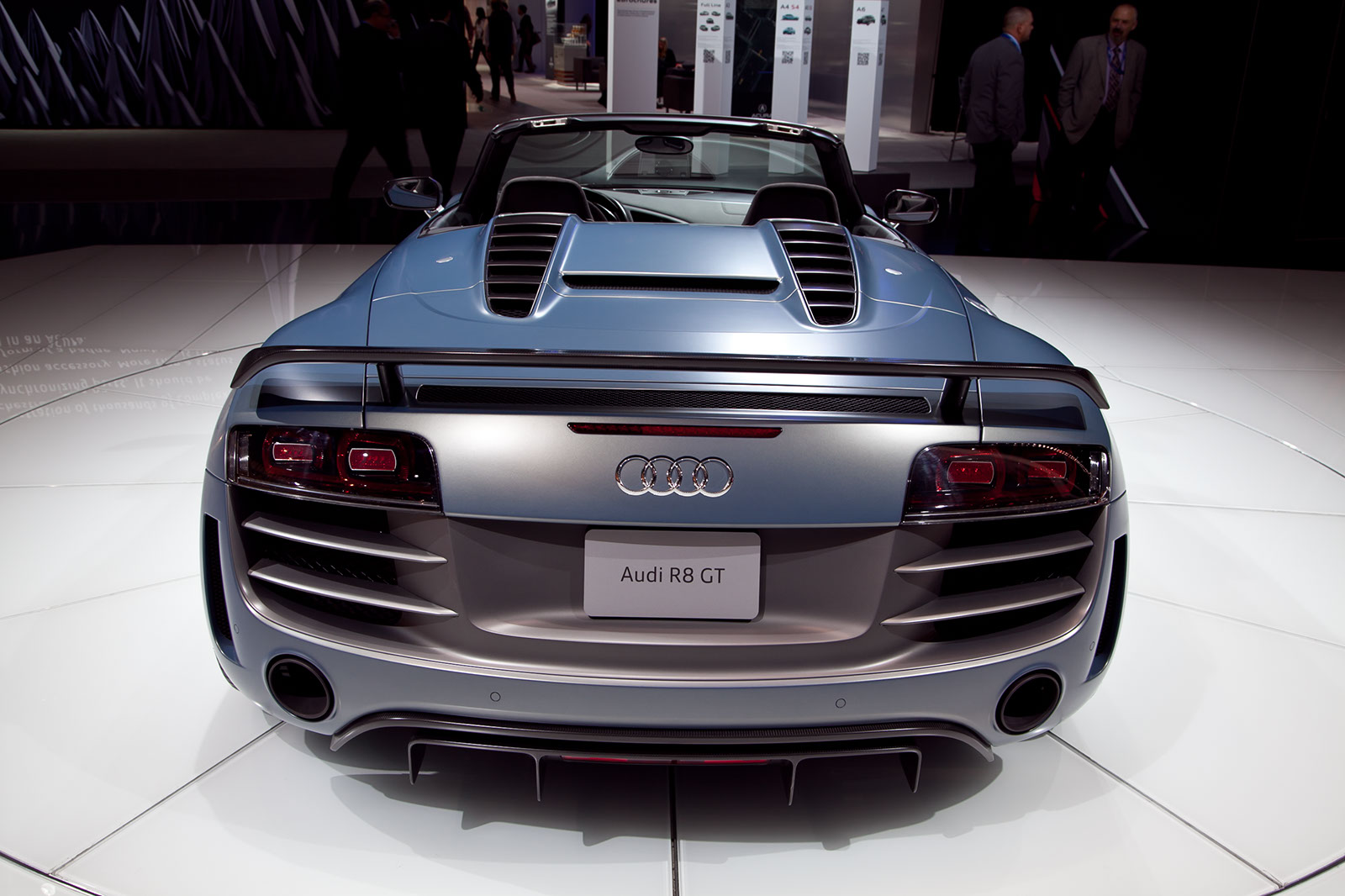 2012 audi r8 gt spyder review - top speed
