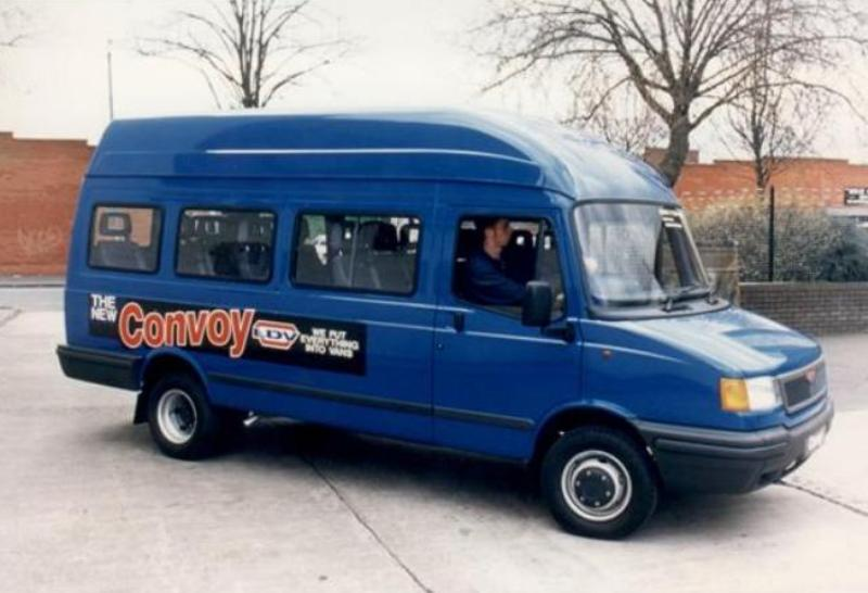 1996 - 2005 LDV Convoy | Top Speed