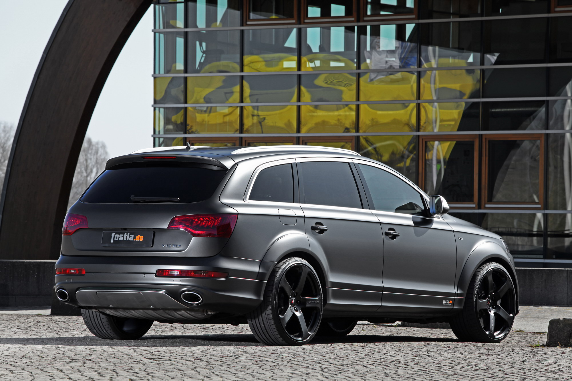 2012 Audi Q7 V12 Tdi By Fostla Top Speed