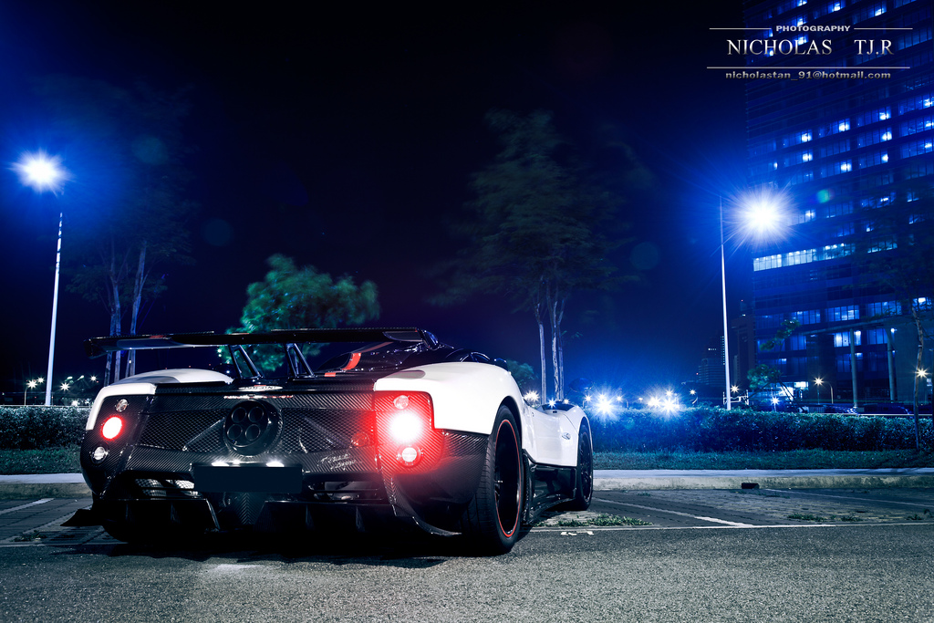 Photo Of The Week 2009 Pagani Zonda Cinque In Singapore