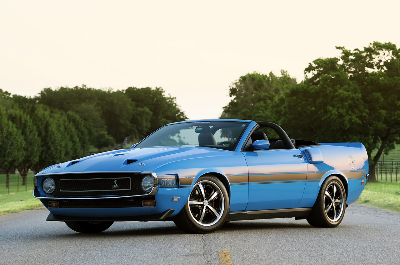 1969 ford mustang shelby gt500cs clone by retrobuilt review top speed. Black Bedroom Furniture Sets. Home Design Ideas