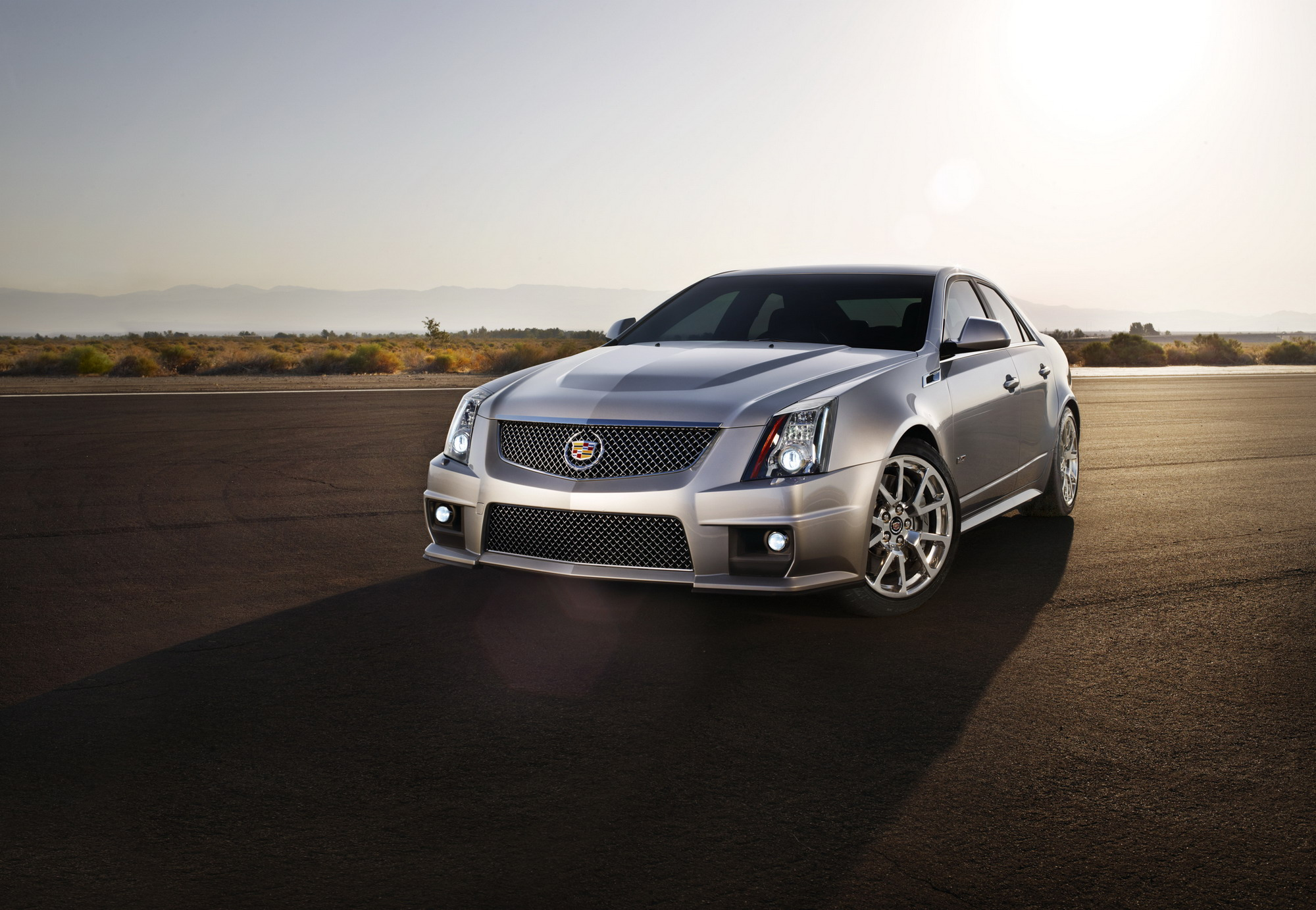 2013 Cadillac CTS-V | Top Speed
