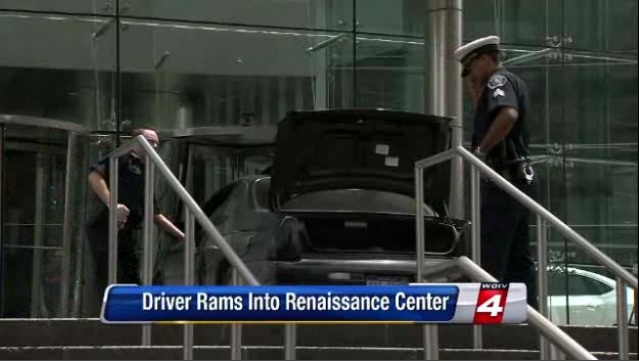 Man Smashes Into General Motors' Headquarters | Top Speed