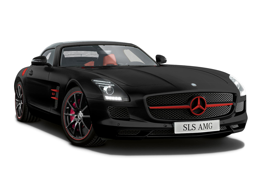 2012 mercedes sls amg matte black and white editions review top speed. Black Bedroom Furniture Sets. Home Design Ideas