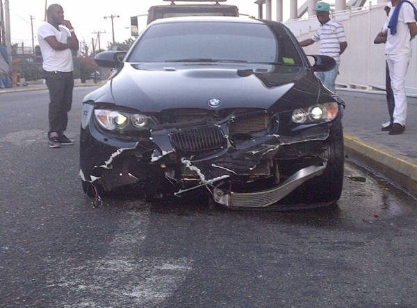 Usain Bolt Crashes Bmw M3 In Jamaica In Olympic Lead Up Top Speed
