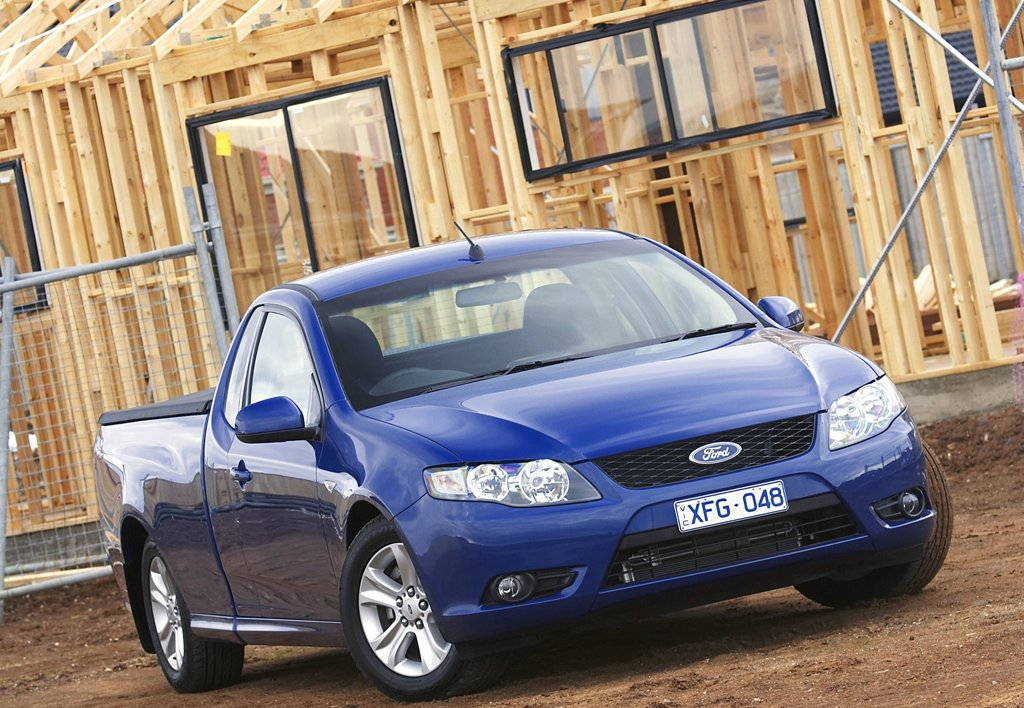 2008 Ford Fg Falcon Ute Top Speed