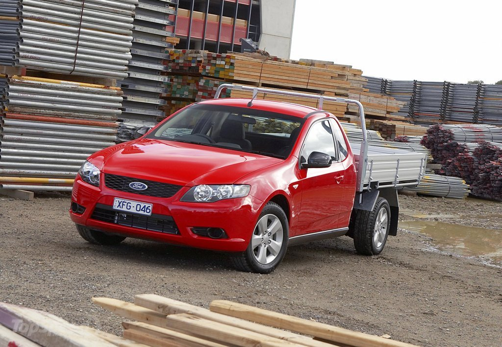 2008 Ford Fg Falcon Ute Picture 466794 Truck Review Top Speed