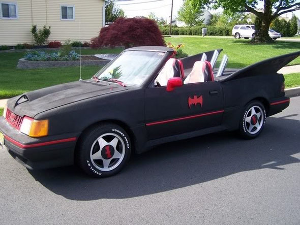 Holy Ugly, Batman: The worst Batmobile replicas you'll ever see