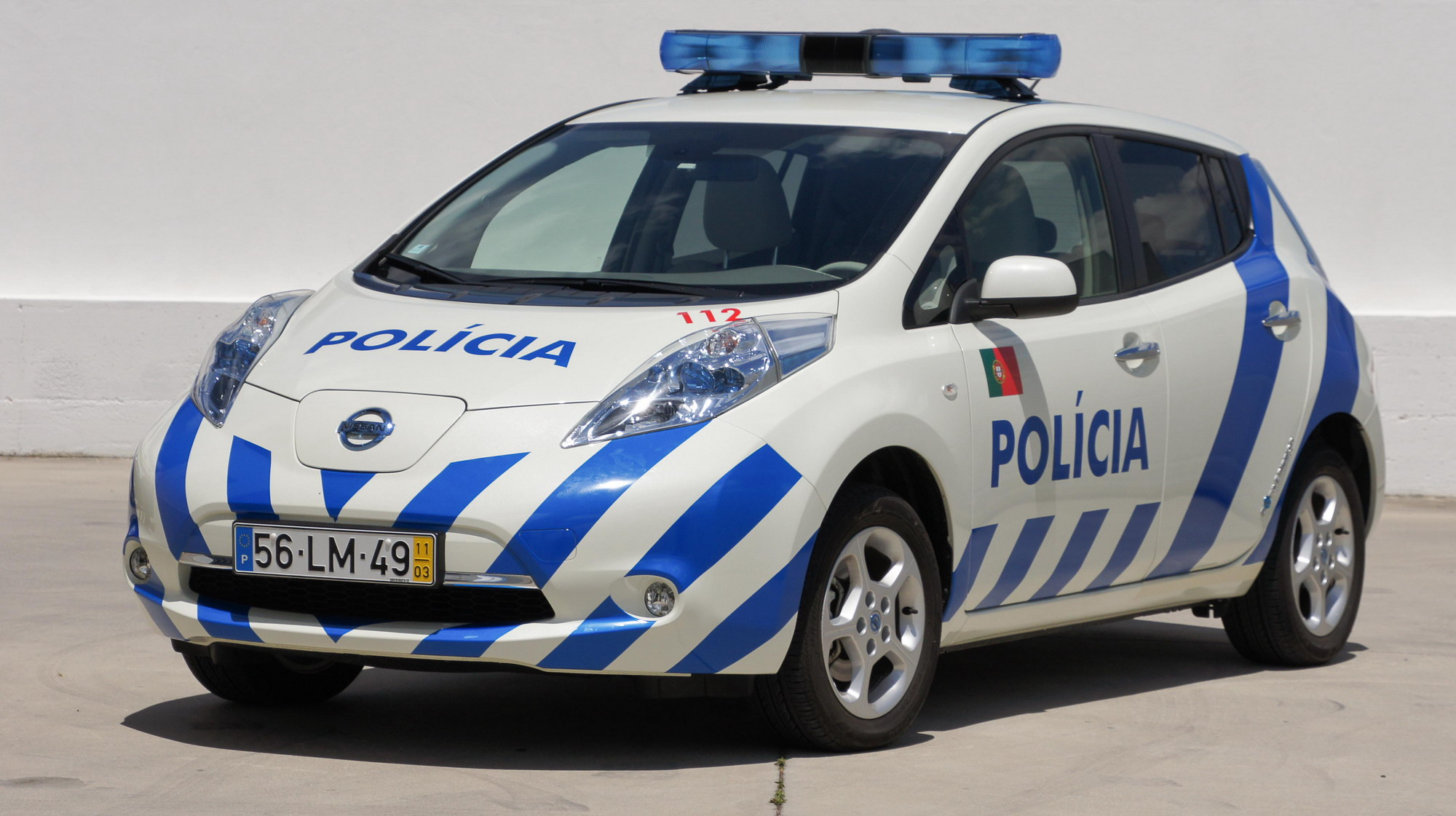 2012 Nissan Leaf Police Car | Top Speed