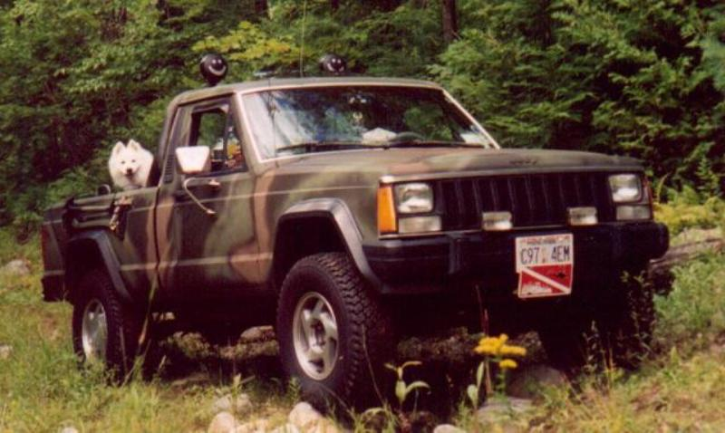 1986 1992 Jeep Comanche Top Speed