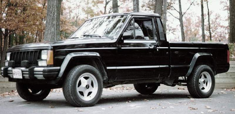 1986 - 1992 Jeep Comanche | Top Speed