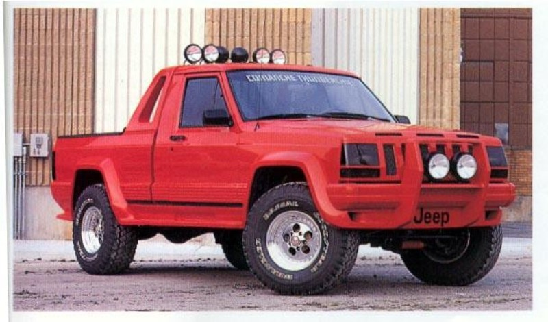 Types Of Pickup Trucks >> 1986 - 1992 Jeep Comanche Review - Top Speed