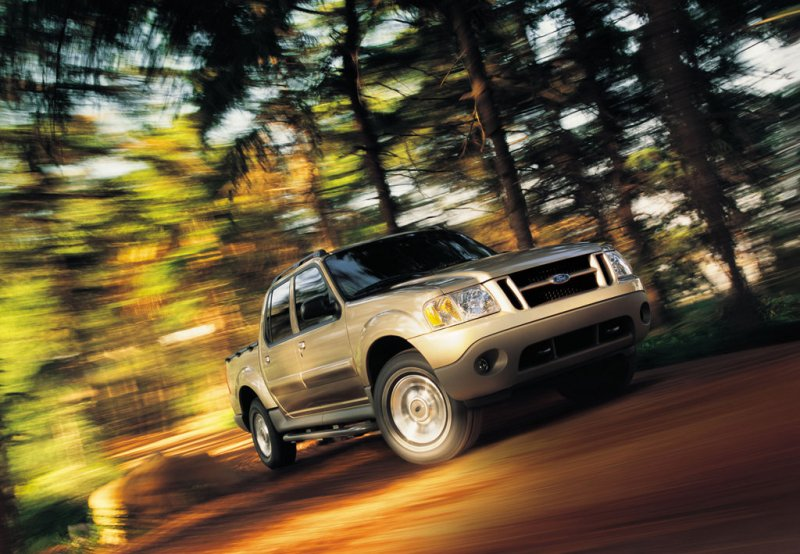 2001 - 2005 Ford Explorer Sport Trac | Top Speed