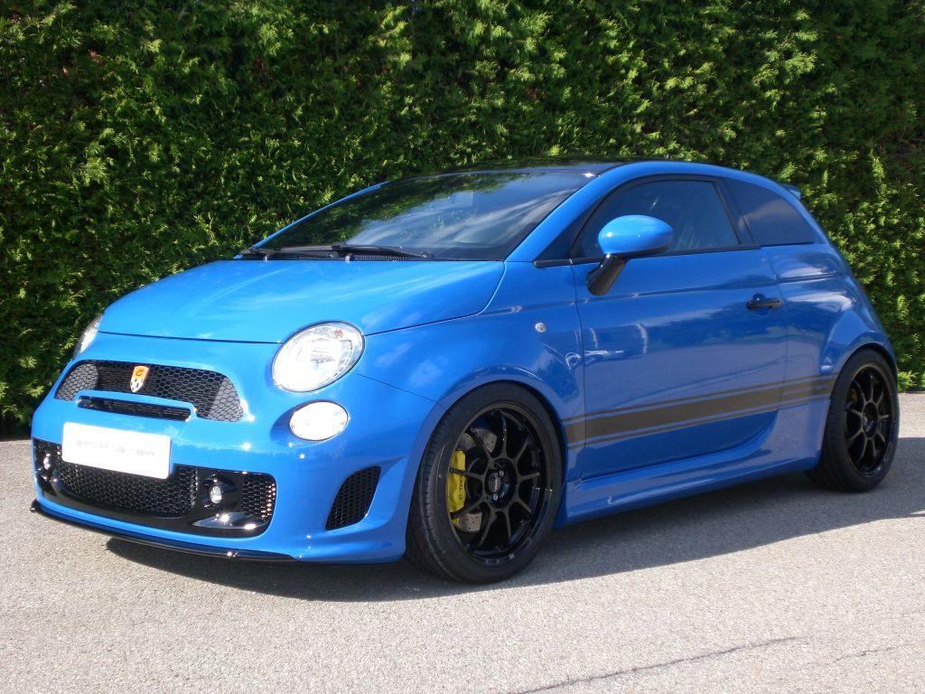 2012 Fiat 500 Abarth Sportster By G-Tech | Top Sd