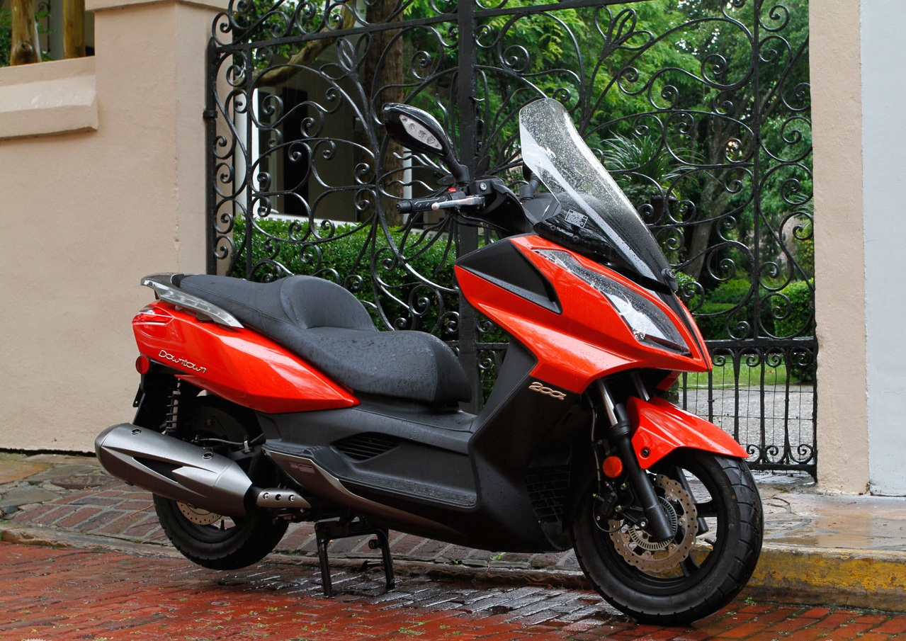 2012 Kymco Downtown 200i Top Speed
