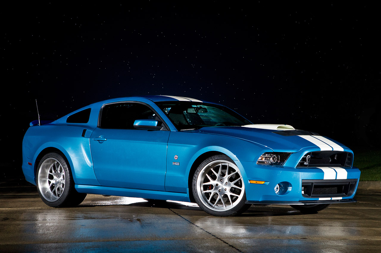 2013 Ford Mustang Shelby Gt500 Cobra Tribute Model Top Speed