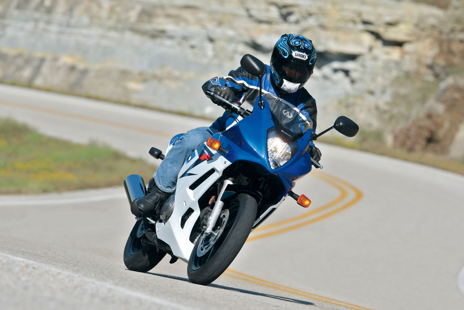 2013 Suzuki GS500F | Top Speed