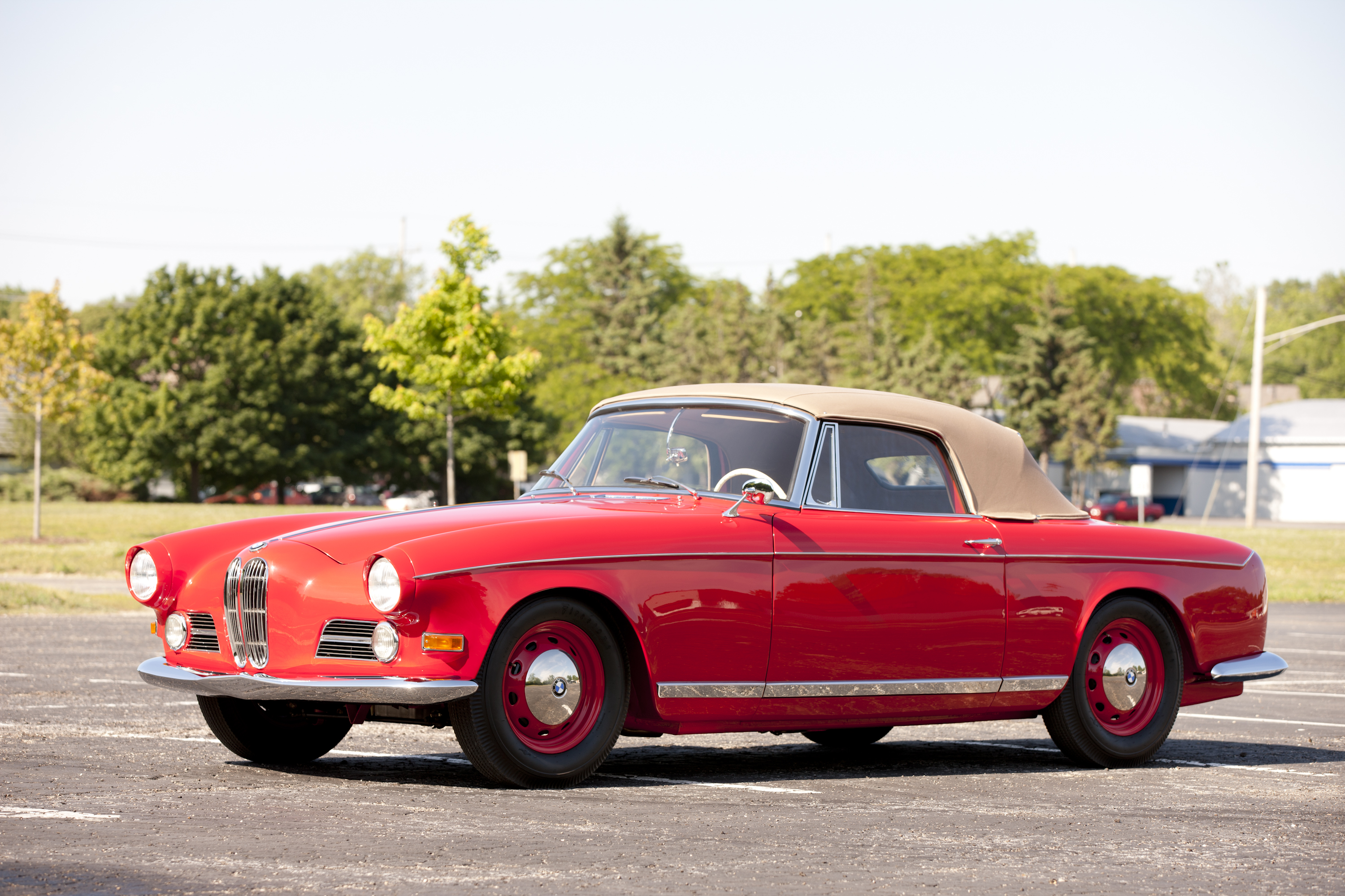 1956 - 1959 BMW 503 Series I Cabriolet Review - Top Speed