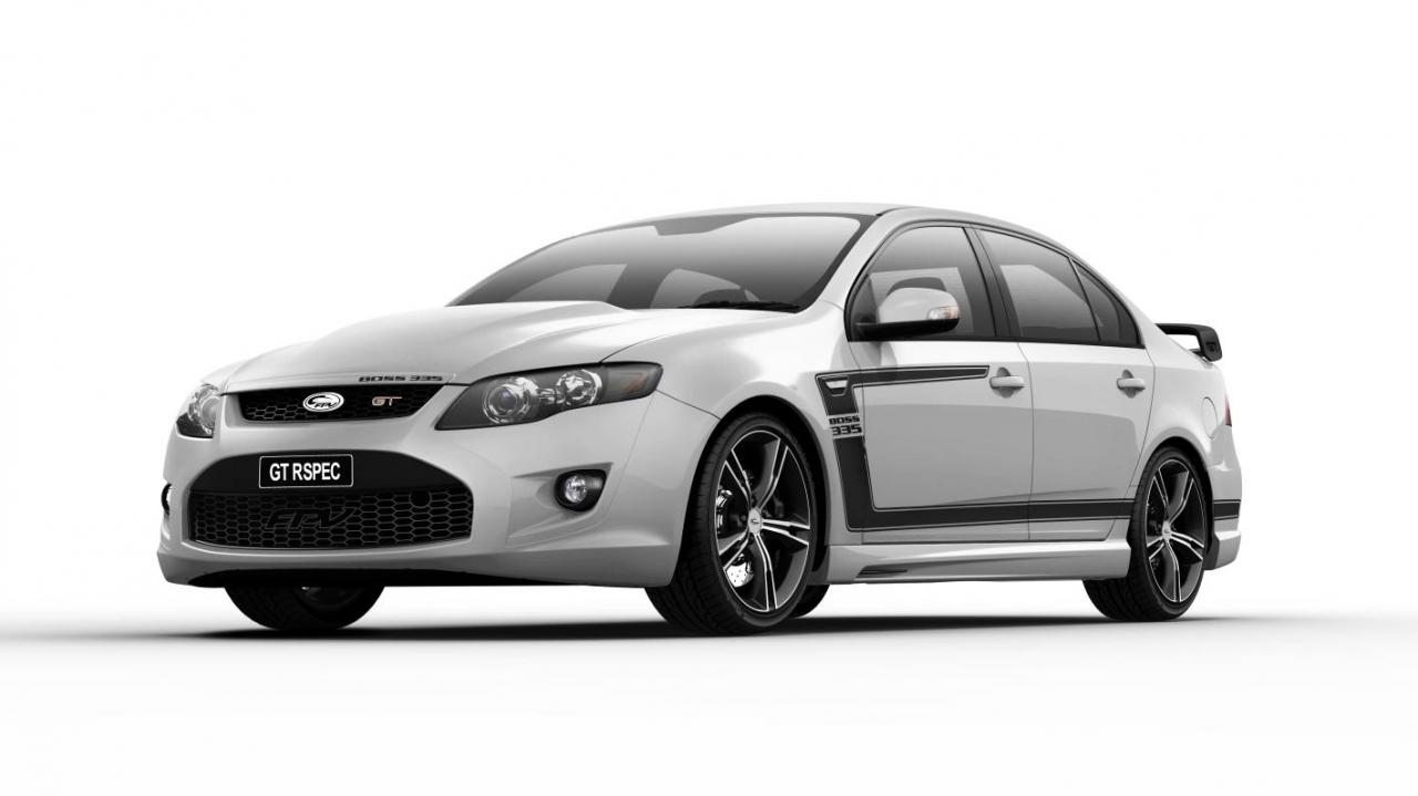 2012 ford falcon gt rspec limited edition series by ford