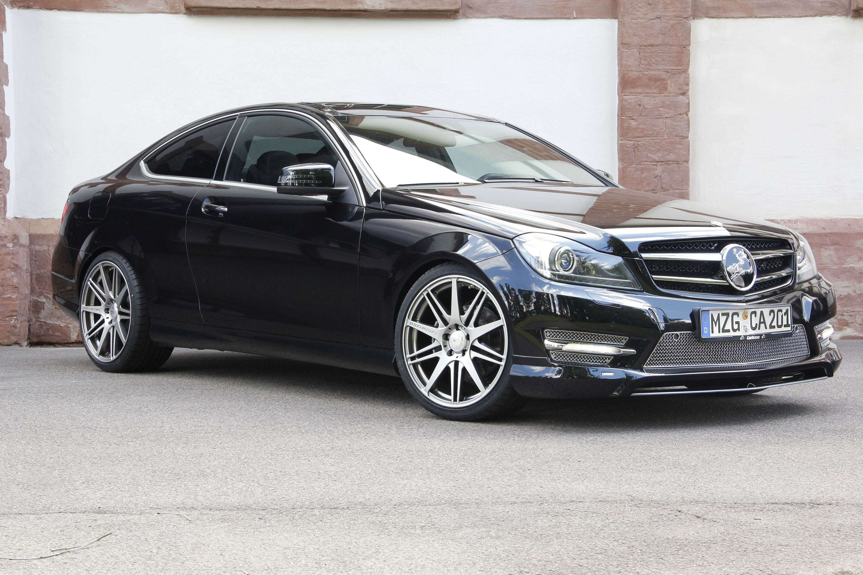 2012 mercedes c class coupe cb 20s by carlsson top speed. Black Bedroom Furniture Sets. Home Design Ideas