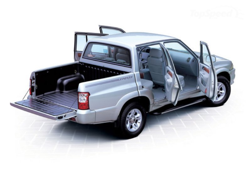 2002 2005 ssangyong musso pick up picture 472251 truck review top speed. Black Bedroom Furniture Sets. Home Design Ideas