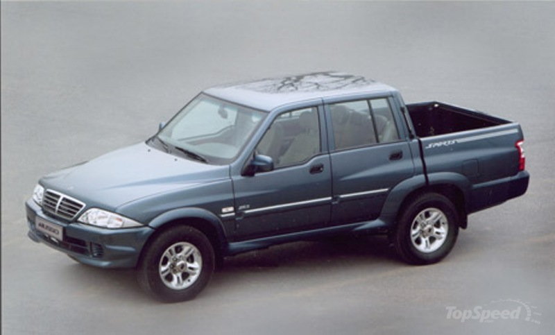 2002 2005 ssangyong musso pick up picture 472242 truck review top speed. Black Bedroom Furniture Sets. Home Design Ideas