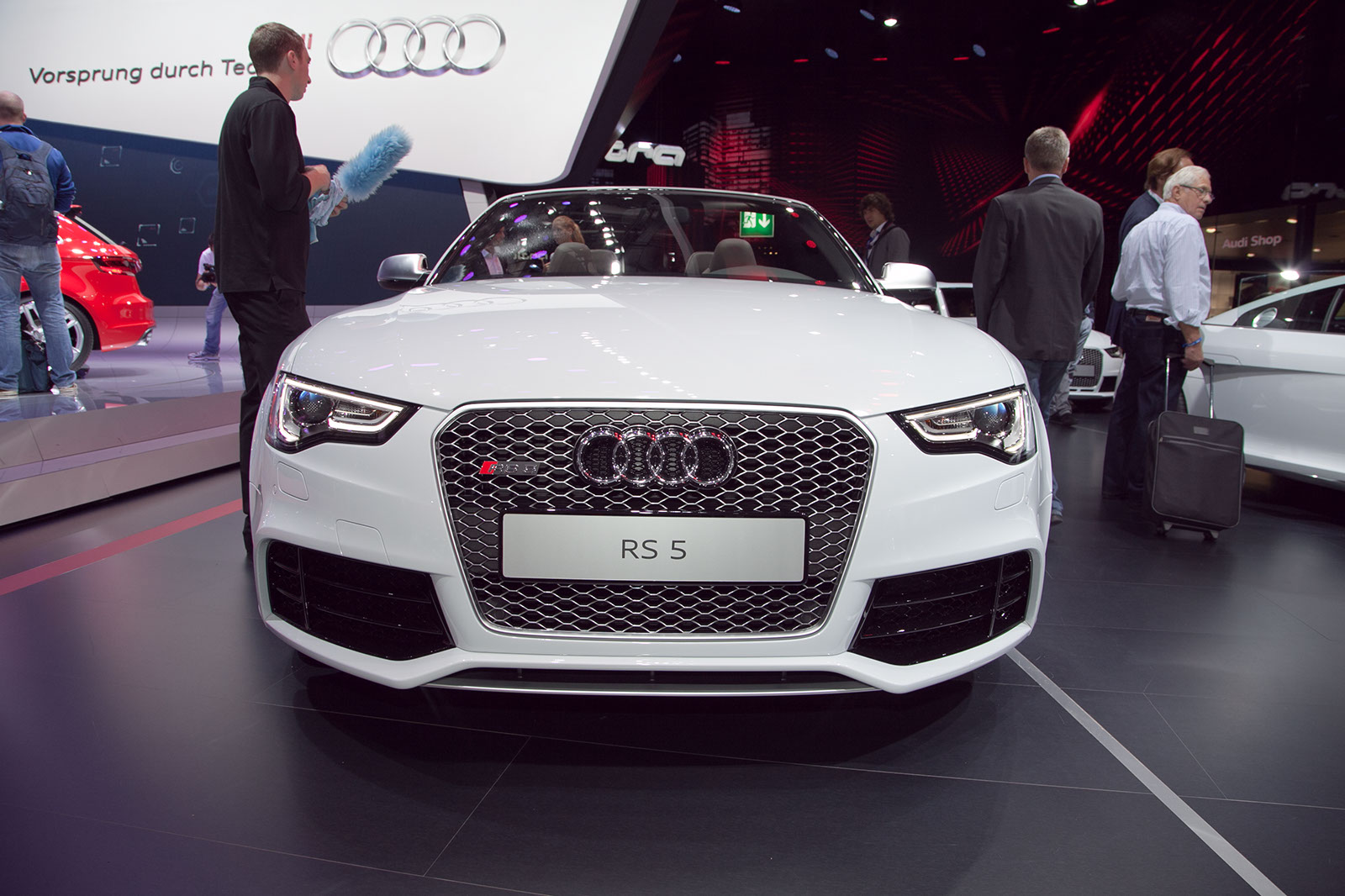 2013 Audi RS5 Cabriolet Review   Top Speed. »