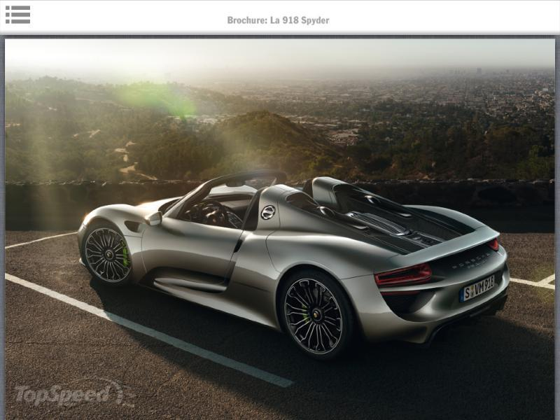 2014 porsche 918 spyder picture 474014 car review top speed. Black Bedroom Furniture Sets. Home Design Ideas