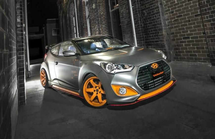 2013 Hyundai Veloster Street Concept Review Top Speed