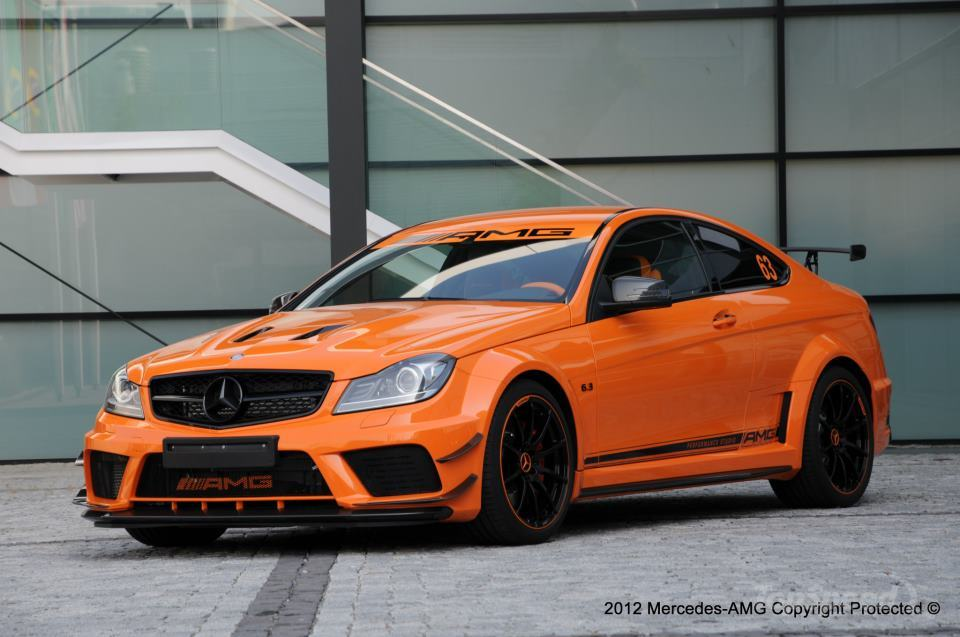 2013 mercedes c63 amg black series halloween edition for Mercedes benz c63 amg black edition