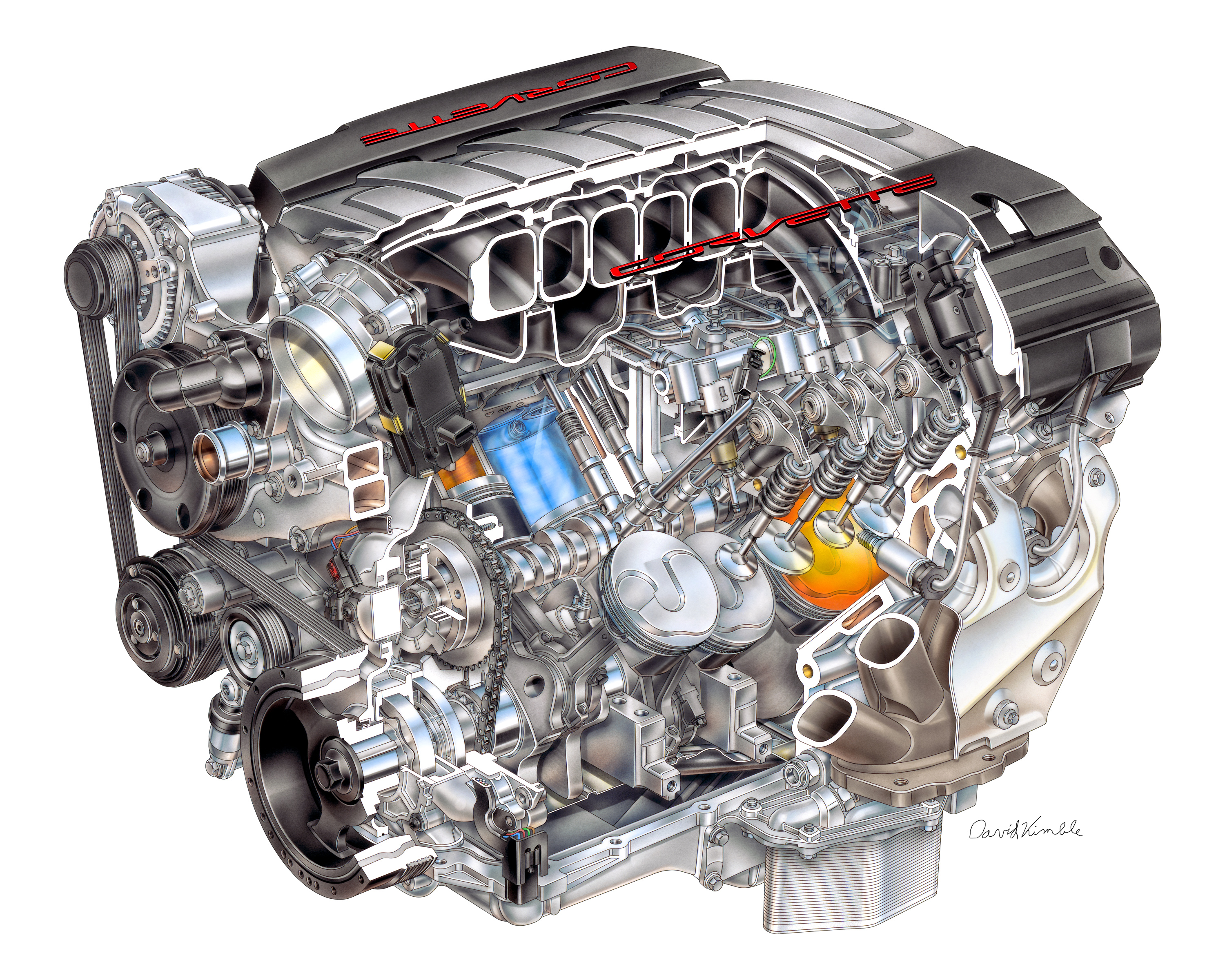 Chevrolet Introduces The All New Lt1 V8 Engine For C7 Corvette 2011 Subaru Legacy Fuse Diagram Top Speed
