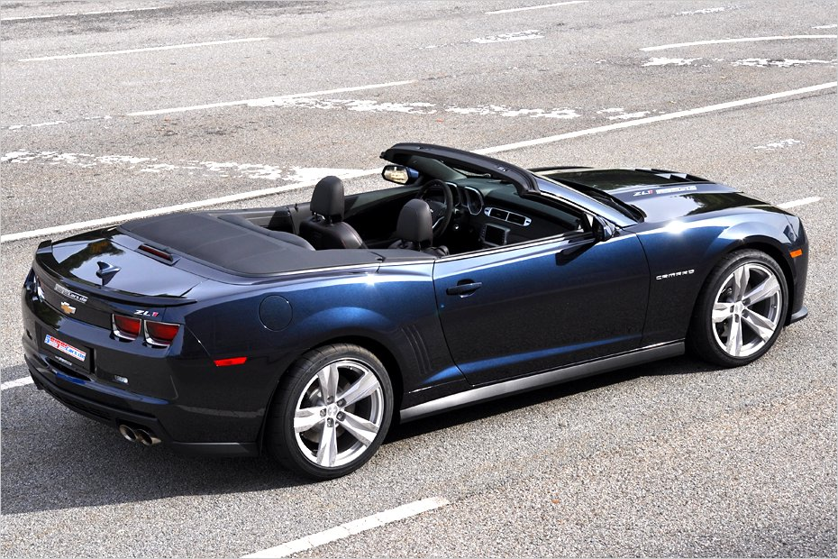 2013 Chevrolet Camaro Zl1 Convertible By Geigercars Review