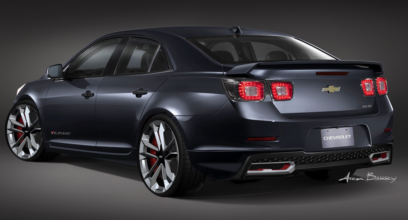 2013 Chevrolet Malibu Turbo Performance Concept | Top Speed