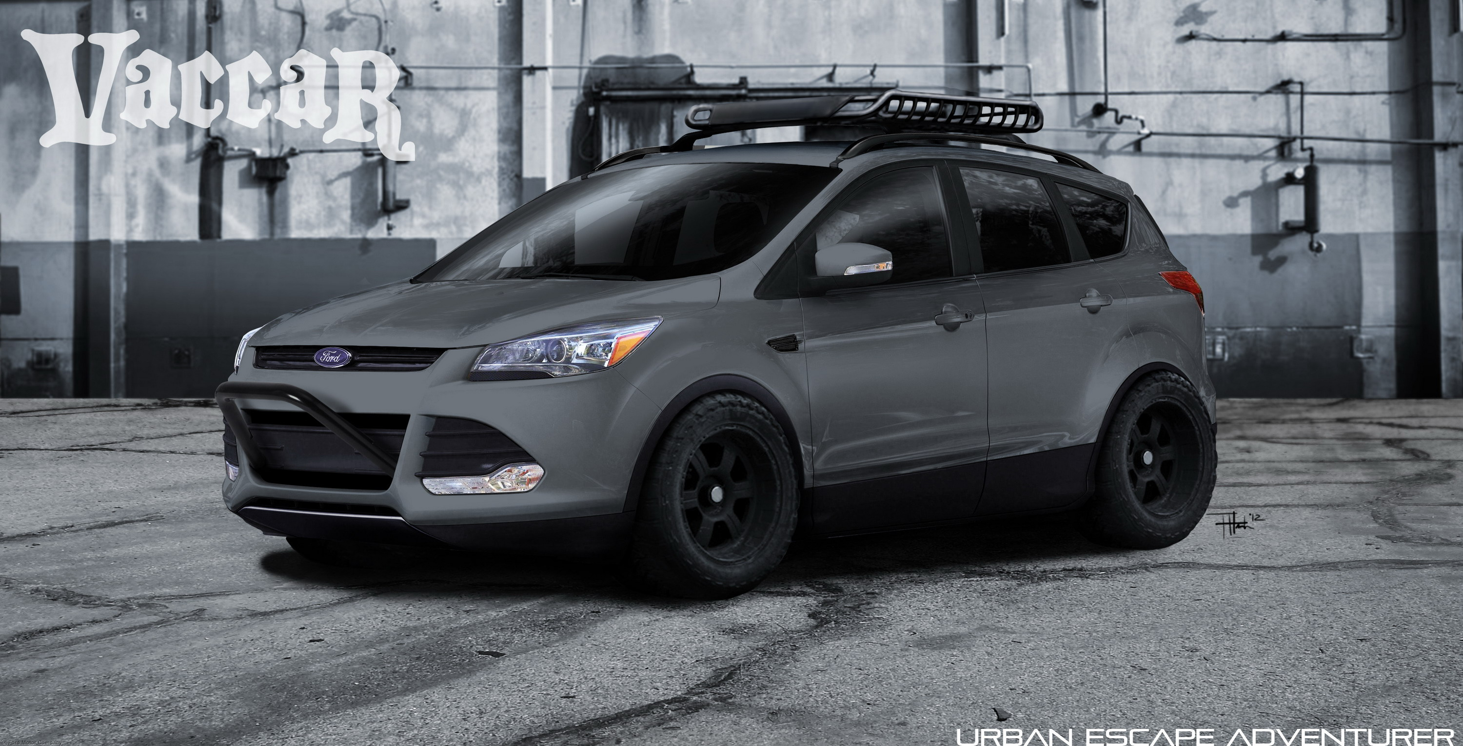 2013 ford escape by vaccar top speed