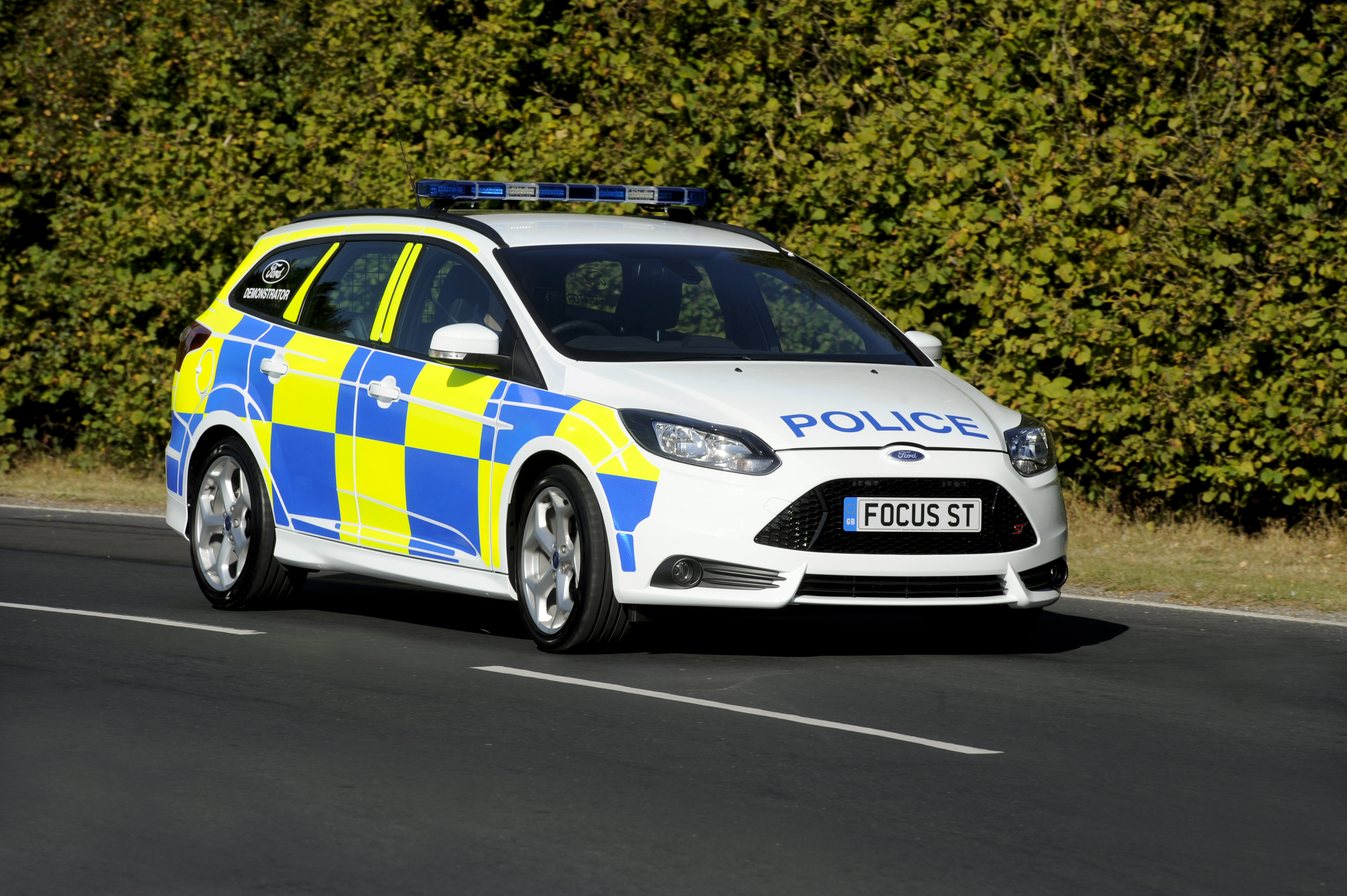 2013 ford focus st police patrol vehicle review top speed. Black Bedroom Furniture Sets. Home Design Ideas
