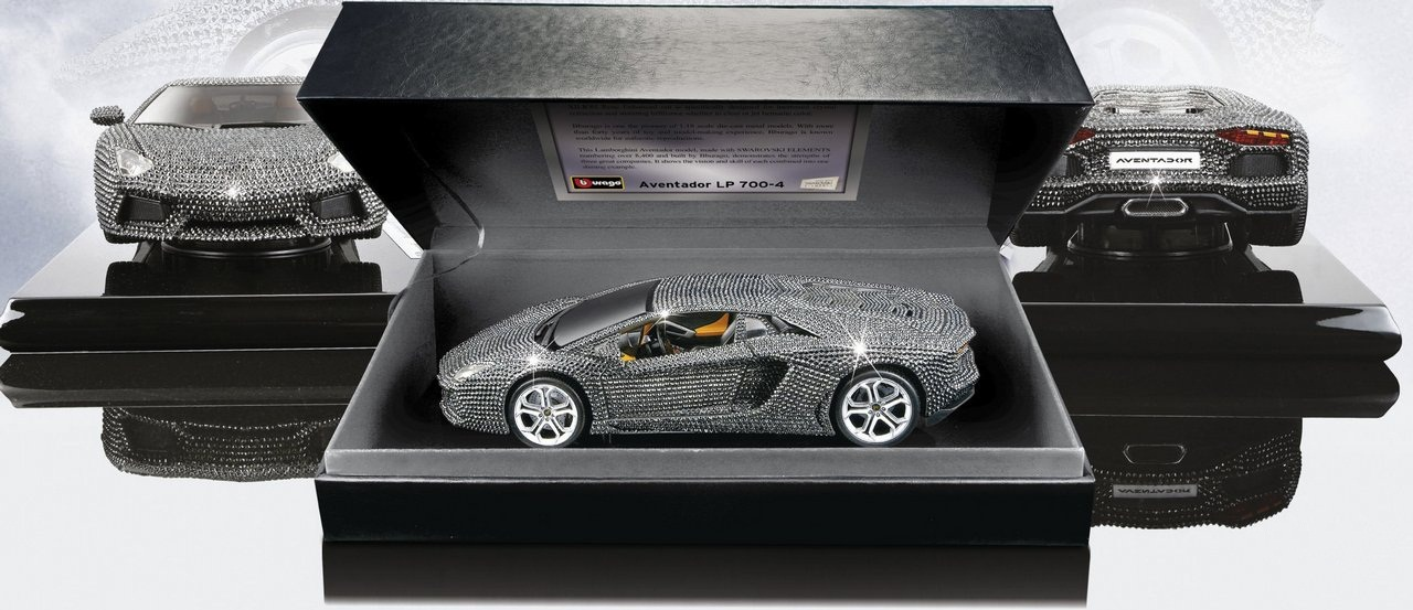 Lamborghini Aventador LP 700 4 Wrapped In Swarovski Crystals News   Top  Speed