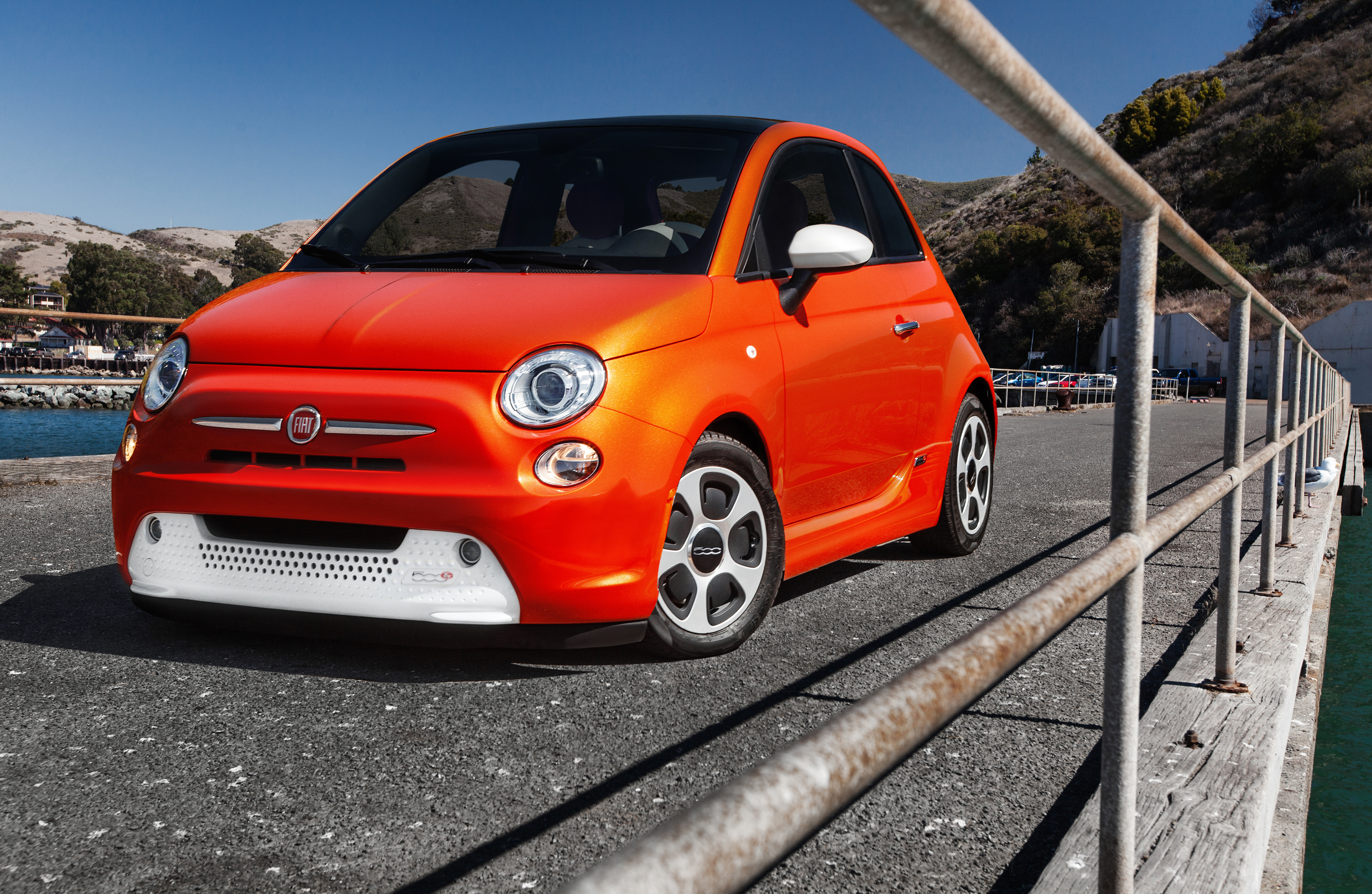 2014 fiat 500e review - top speed