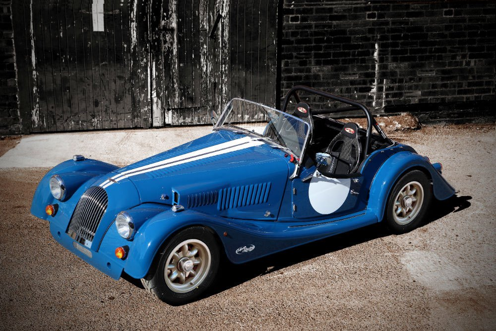 2013 Morgan Plus 4 Super Sports Baby Doll Vi Top Speed