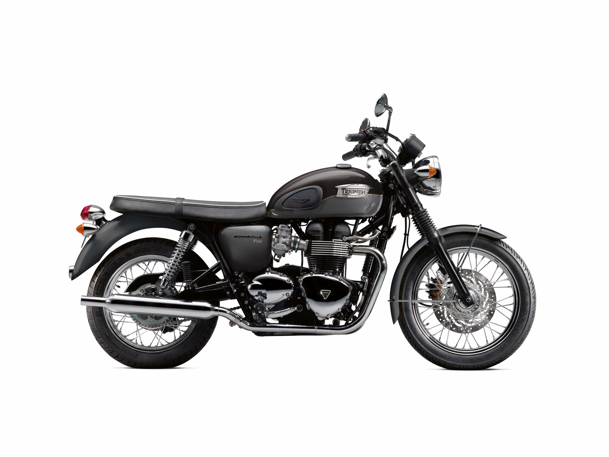 2013 Triumph Bonneville T100 | Top Speed. »