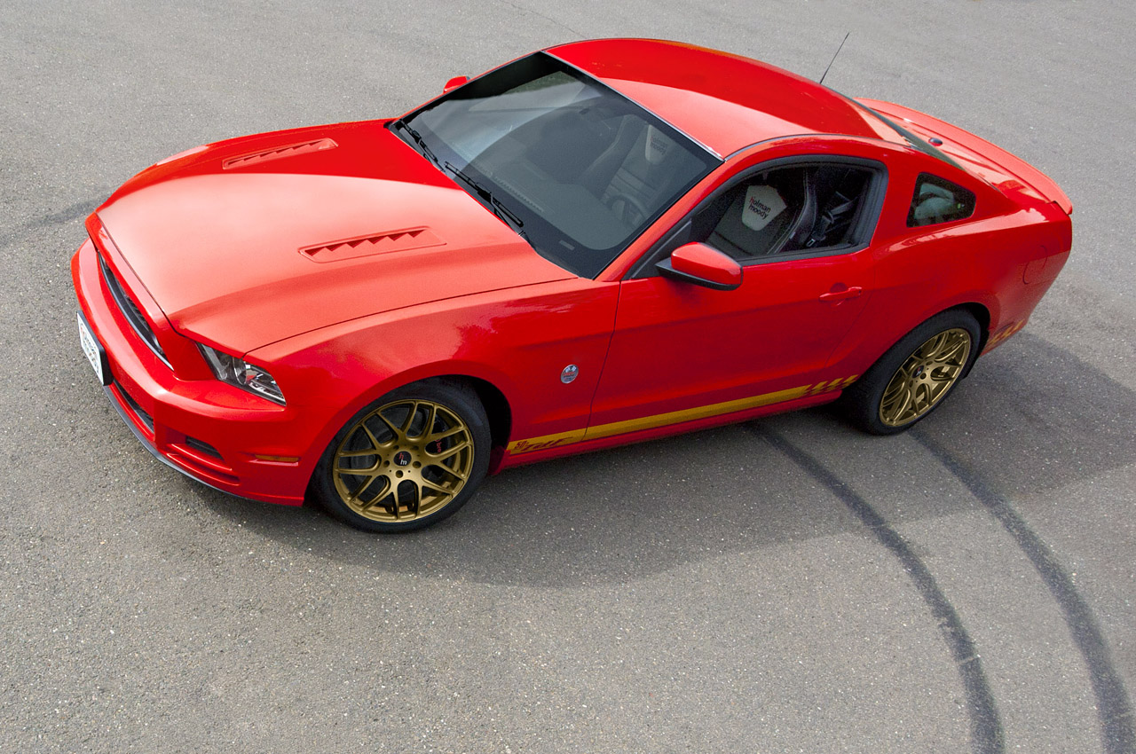 2014 ford mustang 50th anniversary holman moody tdf by holman moody top speed. Black Bedroom Furniture Sets. Home Design Ideas