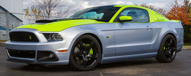 2014 ford roush stage 3 mustang gt by roush ford racing and sherwin williams automotive paints. Black Bedroom Furniture Sets. Home Design Ideas