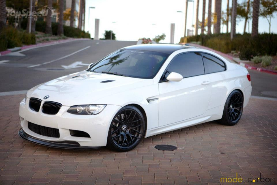 2012 bmw m3 coupe snow white by mode carbon picture. Black Bedroom Furniture Sets. Home Design Ideas