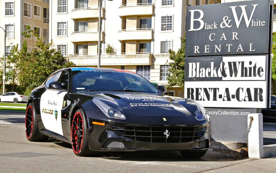 2013 Ferrari Ff Beverly Hills Police Officers Association Ball