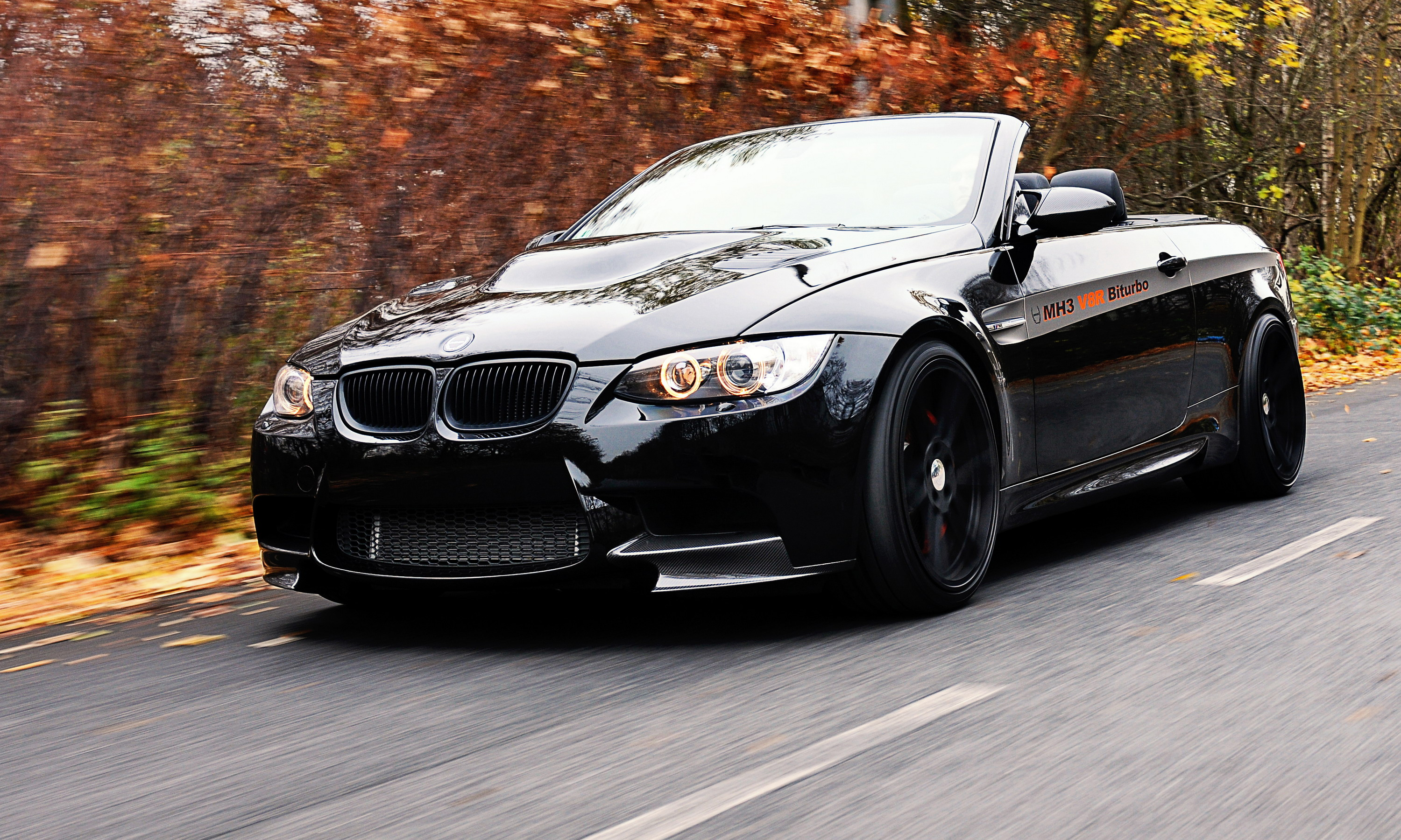 2013 Bmw Mh3 V8 R Biturbo Cabriolet By Manhart Racing