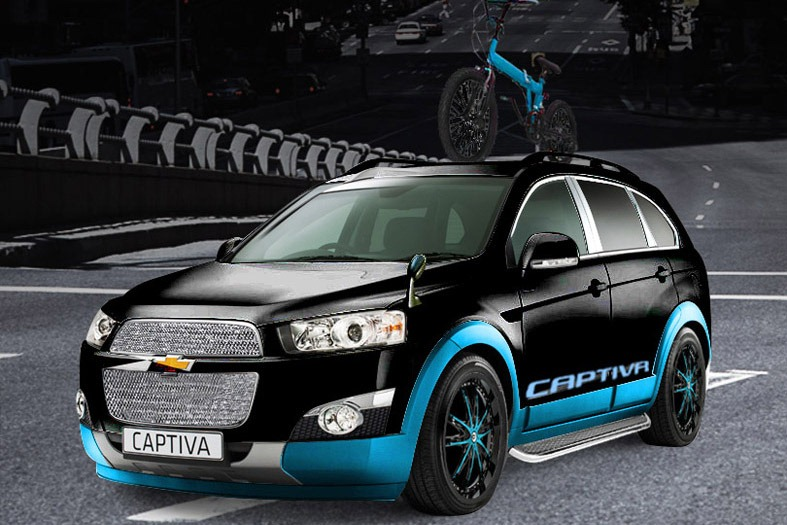 2013 Chevrolet Captiva Freedom Rider Edition Review   Gallery