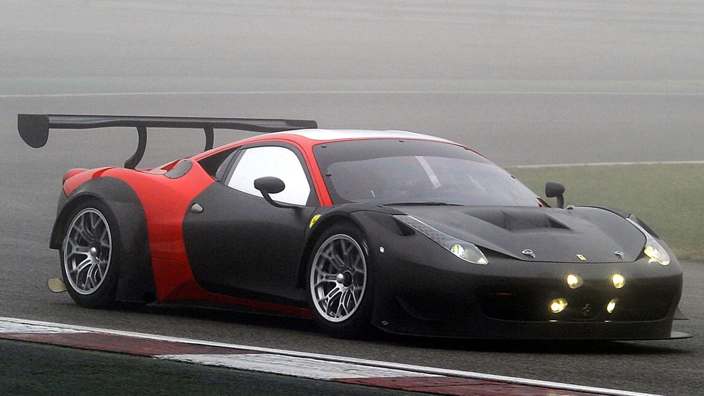 2013 Ferrari 458 Gt3 Top Speed