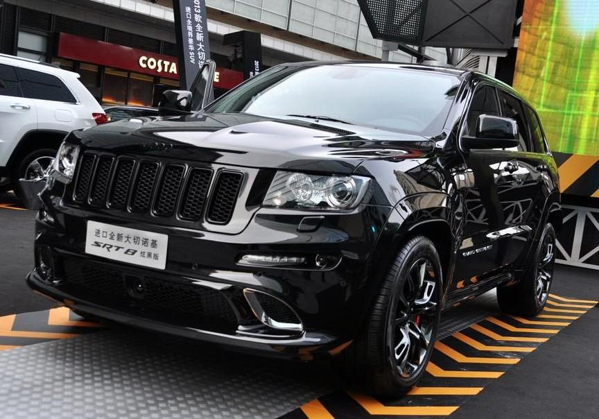 2013 Jeep Grand Cherokee SRT8 Hyun Black Edition Review ...